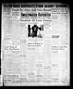 Primary view of object titled 'Sweetwater Reporter (Sweetwater, Tex.), Vol. 43, No. 318, Ed. 1 Sunday, May 19, 1940'.