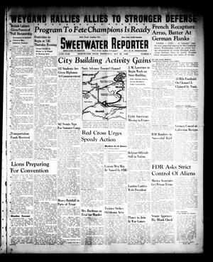 Primary view of object titled 'Sweetwater Reporter (Sweetwater, Tex.), Vol. 44, No. 2, Ed. 1 Wednesday, May 22, 1940'.