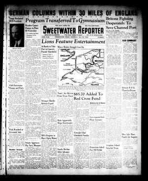 Primary view of object titled 'Sweetwater Reporter (Sweetwater, Tex.), Vol. 44, No. 3, Ed. 1 Thursday, May 23, 1940'.