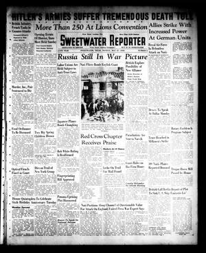Primary view of object titled 'Sweetwater Reporter (Sweetwater, Tex.), Vol. 44, No. 5, Ed. 1 Monday, May 27, 1940'.