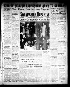 Sweetwater Reporter (Sweetwater, Tex.), Vol. 44, No. 6, Ed. 1 Tuesday, May 28, 1940