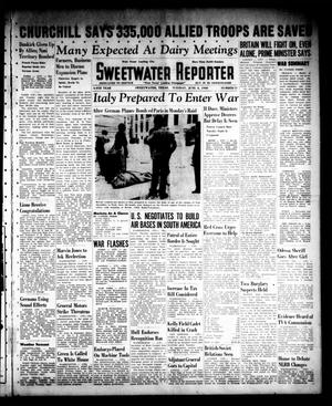 Primary view of object titled 'Sweetwater Reporter (Sweetwater, Tex.), Vol. 44, No. 11, Ed. 1 Tuesday, June 4, 1940'.
