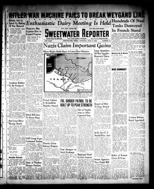 Primary view of object titled 'Sweetwater Reporter (Sweetwater, Tex.), Vol. 44, No. 13, Ed. 1 Thursday, June 6, 1940'.