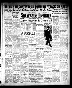 Primary view of object titled 'Sweetwater Reporter (Sweetwater, Tex.), Vol. 44, No. 14, Ed. 1 Friday, June 7, 1940'.