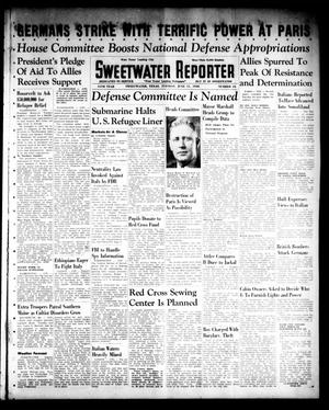 Primary view of object titled 'Sweetwater Reporter (Sweetwater, Tex.), Vol. 44, No. 16, Ed. 1 Tuesday, June 11, 1940'.