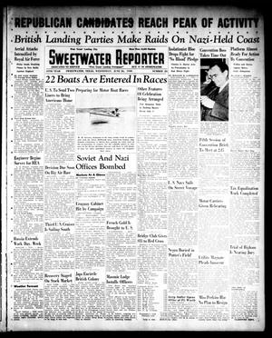 Primary view of object titled 'Sweetwater Reporter (Sweetwater, Tex.), Vol. 44, No. 25, Ed. 1 Wednesday, June 26, 1940'.