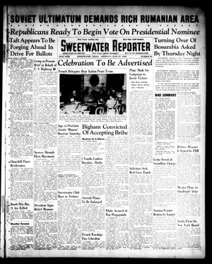 Primary view of object titled 'Sweetwater Reporter (Sweetwater, Tex.), Vol. 44, No. 26, Ed. 1 Thursday, June 27, 1940'.