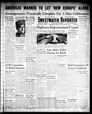 Primary view of object titled 'Sweetwater Reporter (Sweetwater, Tex.), Vol. 44, No. 27, Ed. 1 Sunday, June 30, 1940'.
