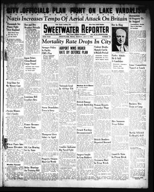 Primary view of object titled 'Sweetwater Reporter (Sweetwater, Tex.), Vol. 44, No. 34, Ed. 1 Tuesday, July 9, 1940'.