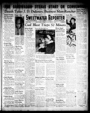 Primary view of object titled 'Sweetwater Reporter (Sweetwater, Tex.), Vol. 44, No. 38, Ed. 1 Monday, July 15, 1940'.