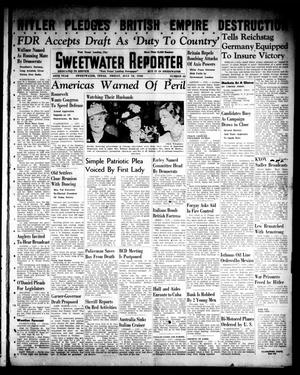 Primary view of object titled 'Sweetwater Reporter (Sweetwater, Tex.), Vol. 44, No. 42, Ed. 1 Friday, July 19, 1940'.