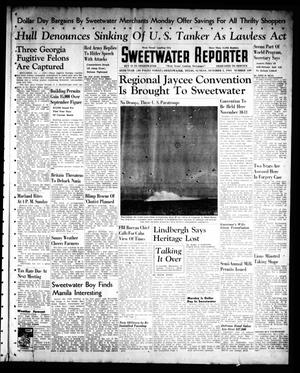 Primary view of object titled 'Sweetwater Reporter (Sweetwater, Tex.), Vol. 45, No. 109, Ed. 1 Sunday, October 5, 1941'.