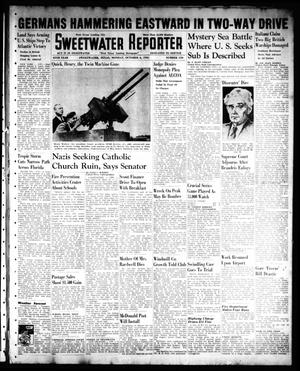 Sweetwater Reporter (Sweetwater, Tex.), Vol. 45, No. 110, Ed. 1 Monday, October 6, 1941