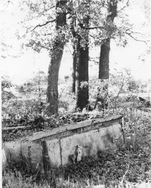 Abandoned Chest at Shady Grove School Site
