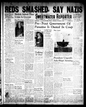 Primary view of object titled 'Sweetwater Reporter (Sweetwater, Tex.), Vol. 45, No. 112, Ed. 1 Thursday, October 9, 1941'.