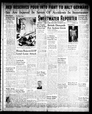 Primary view of object titled 'Sweetwater Reporter (Sweetwater, Tex.), Vol. 45, No. 112, Ed. 1 Friday, October 10, 1941'.