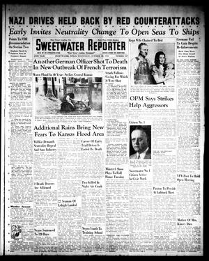 Primary view of object titled 'Sweetwater Reporter (Sweetwater, Tex.), Vol. 45, No. 137, Ed. 1 Wednesday, October 22, 1941'.