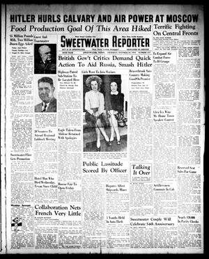 Sweetwater Reporter (Sweetwater, Tex.), Vol. 45, No. 137, Ed. 1 Thursday, October 23, 1941