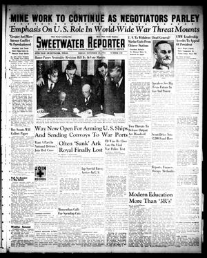Primary view of object titled 'Sweetwater Reporter (Sweetwater, Tex.), Vol. 45, No. 152, Ed. 1 Friday, November 14, 1941'.