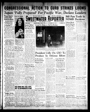 Primary view of object titled 'Sweetwater Reporter (Sweetwater, Tex.), Vol. 45, No. 153, Ed. 1 Tuesday, November 18, 1941'.