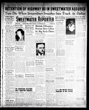Sweetwater Reporter (Sweetwater, Tex.), Vol. 45, No. 155, Ed. 1 Thursday, November 20, 1941