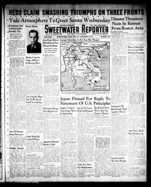 Primary view of object titled 'Sweetwater Reporter (Sweetwater, Tex.), Vol. 45, No. 165, Ed. 1 Tuesday, December 2, 1941'.