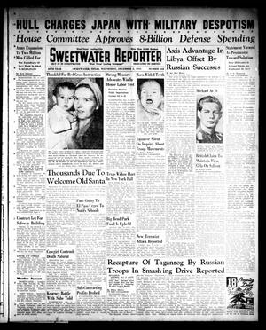 Primary view of object titled 'Sweetwater Reporter (Sweetwater, Tex.), Vol. 45, No. 166, Ed. 1 Wednesday, December 3, 1941'.