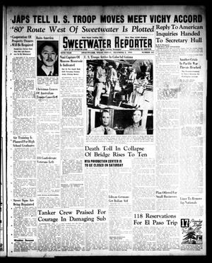 Primary view of object titled 'Sweetwater Reporter (Sweetwater, Tex.), Vol. 45, No. 167, Ed. 1 Friday, December 5, 1941'.