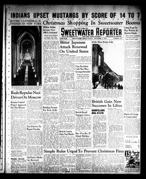 Sweetwater Reporter (Sweetwater, Tex.), Vol. 45, No. 167, Ed. 1 Sunday, December 7, 1941