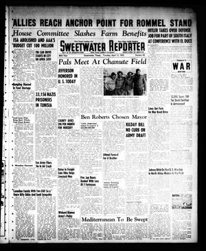 Primary view of object titled 'Sweetwater Reporter (Sweetwater, Tex.), Vol. 46, No. 92, Ed. 1 Tuesday, April 13, 1943'.