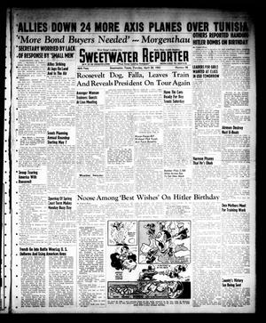 Primary view of object titled 'Sweetwater Reporter (Sweetwater, Tex.), Vol. 46, No. 98, Ed. 1 Tuesday, April 20, 1943'.