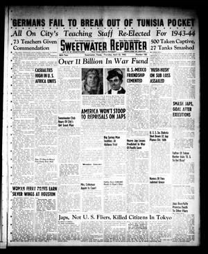 Primary view of object titled 'Sweetwater Reporter (Sweetwater, Tex.), Vol. 46, No. 100, Ed. 1 Thursday, April 22, 1943'.