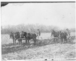 Primary view of object titled 'Plowing on Frank Brawley Farm'.