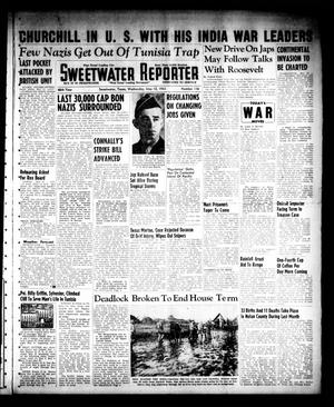 Primary view of object titled 'Sweetwater Reporter (Sweetwater, Tex.), Vol. 46, No. 116, Ed. 1 Wednesday, May 12, 1943'.