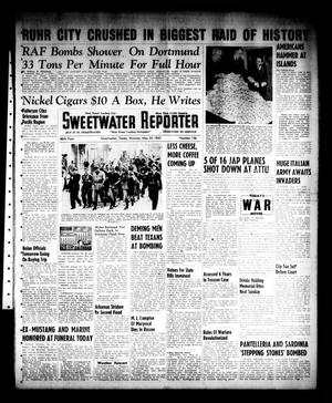 Primary view of object titled 'Sweetwater Reporter (Sweetwater, Tex.), Vol. 46, No. 126, Ed. 1 Monday, May 24, 1943'.