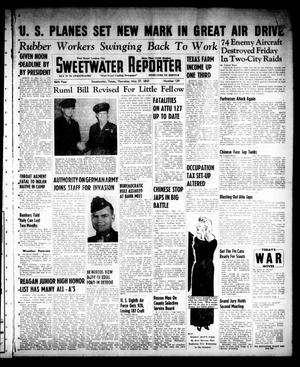 Primary view of object titled 'Sweetwater Reporter (Sweetwater, Tex.), Vol. 46, No. 129, Ed. 1 Thursday, May 27, 1943'.