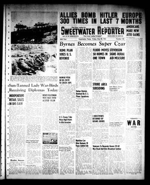 Primary view of object titled 'Sweetwater Reporter (Sweetwater, Tex.), Vol. 46, No. 130, Ed. 1 Friday, May 28, 1943'.