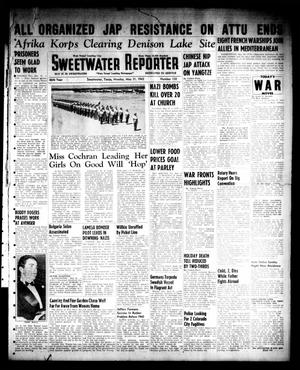 Primary view of object titled 'Sweetwater Reporter (Sweetwater, Tex.), Vol. 46, No. 132, Ed. 1 Monday, May 31, 1943'.