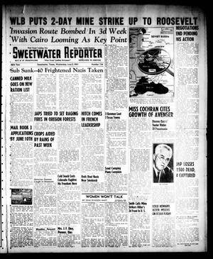 Primary view of object titled 'Sweetwater Reporter (Sweetwater, Tex.), Vol. 46, No. 134, Ed. 1 Wednesday, June 2, 1943'.
