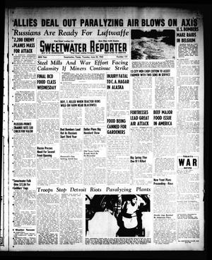 Primary view of object titled 'Sweetwater Reporter (Sweetwater, Tex.), Vol. 46, No. 151, Ed. 1 Tuesday, June 22, 1943'.