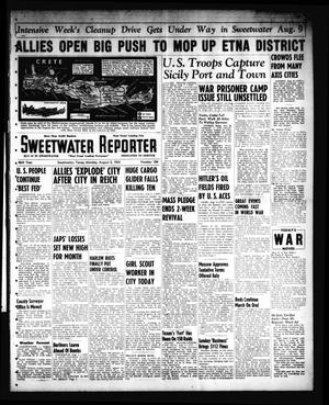 Primary view of object titled 'Sweetwater Reporter (Sweetwater, Tex.), Vol. 46, No. 184, Ed. 1 Monday, August 2, 1943'.