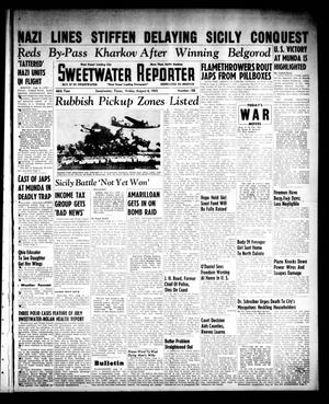 Primary view of object titled 'Sweetwater Reporter (Sweetwater, Tex.), Vol. 46, No. 188, Ed. 1 Friday, August 6, 1943'.