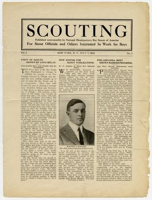 Scouting, Volume 1, Number 6, July 1, 1913