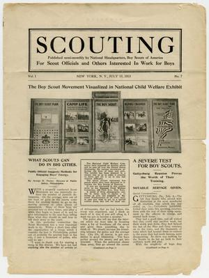 Scouting, Volume 1, Number 7, July 15, 1913