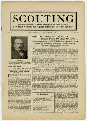 Scouting, Volume 1, Number 14, November 1, 1913