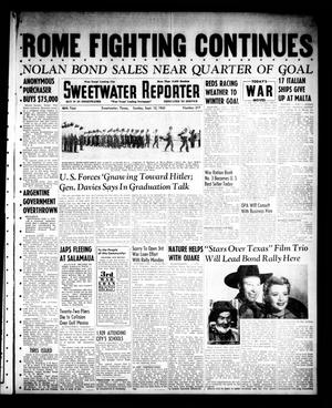 Sweetwater Reporter (Sweetwater, Tex.), Vol. 46, No. 217, Ed. 1 Sunday, September 12, 1943