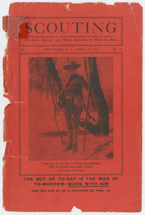 Scouting, Volume 1, Number 23, April 15, 1914