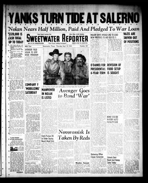 Sweetwater Reporter (Sweetwater, Tex.), Vol. 46, No. 221, Ed. 1 Thursday, September 16, 1943