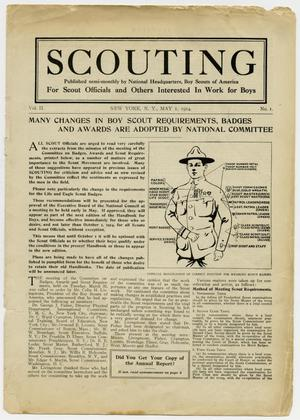 Primary view of object titled 'Scouting, Volume 2, Number 1, May 1, 1914'.