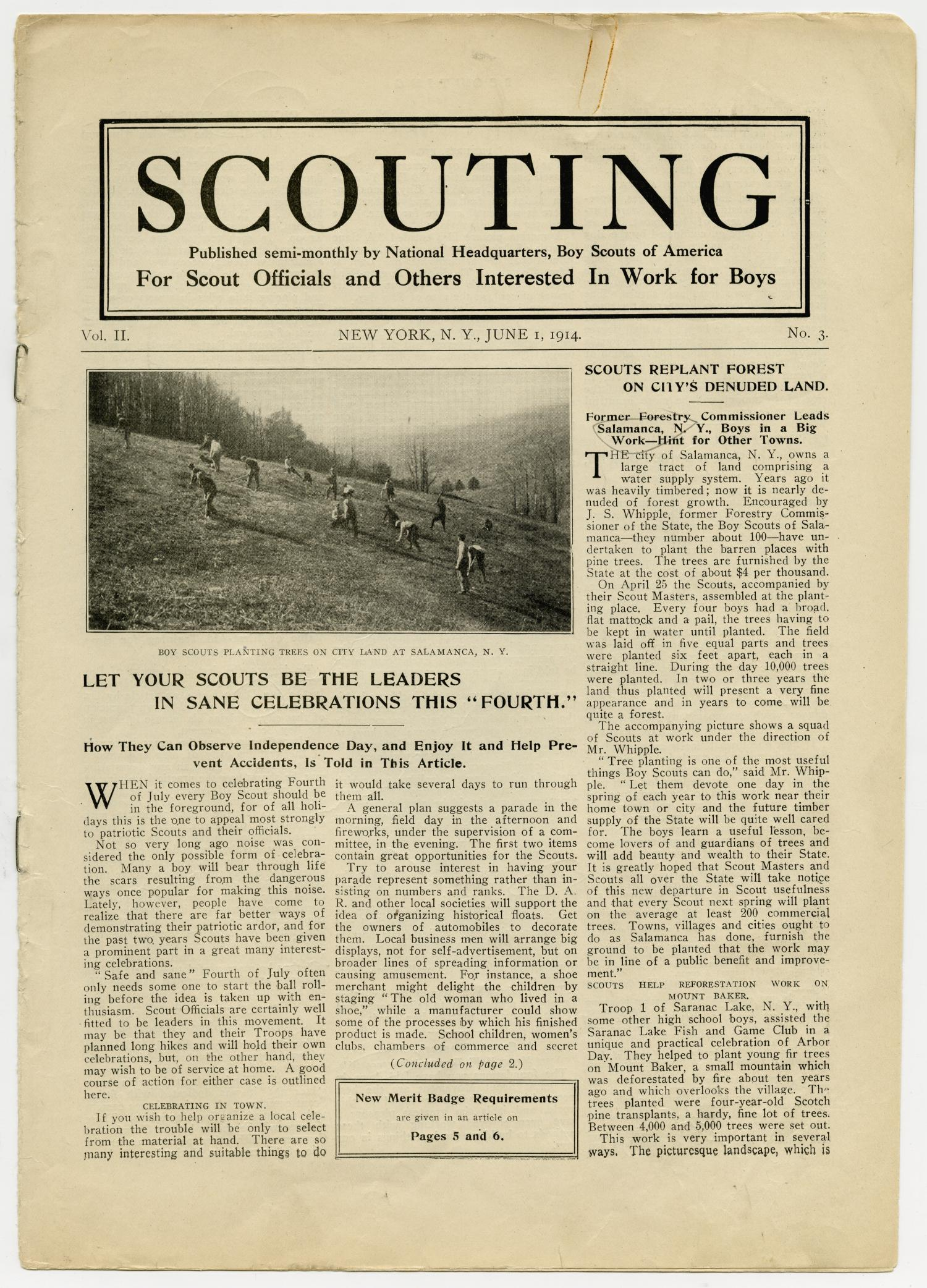 Scouting, Volume 2, Number 3, June 1, 1914                                                                                                      1